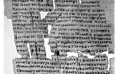didache coptic manuscript